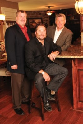 Three owners of Rodrock Homes