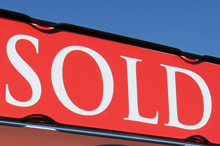 January was a busy month for new home sales