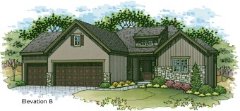 Sonoma elev. B color rendering