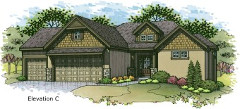 Sonoma elev C color rendering