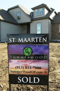 Summerwood had 5 new home sales in Jan. 2013