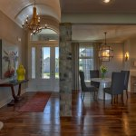 Summerlin EX entryway and dining room