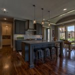 Summerlin EX with grey painted cabinets