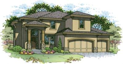 Wakefield elevation C color rendering