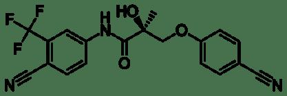 Ostarine Molecule MK-2866 Enobosarm
