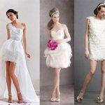 Фото свадебных платьев для пляжной церемонии