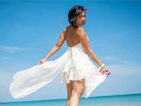 Свадебное платье для пляжа