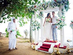 Официальная свадебная церемония на Шри-Ланке