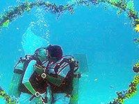 Подводная свадьба в Египте