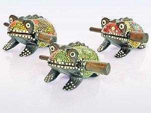 Деревянная жаба - паттайские сувениры