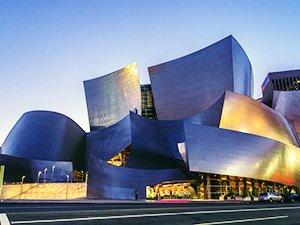 Достопримечательности Лос-Анджелеса - концертный зал Уолта Диснея