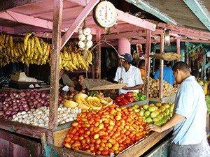 Стоимость продуктов на курортах Доминиканы