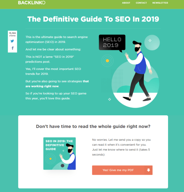 Backlinko's Definitive Guide to SEO