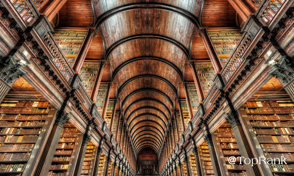 Grand research library image.