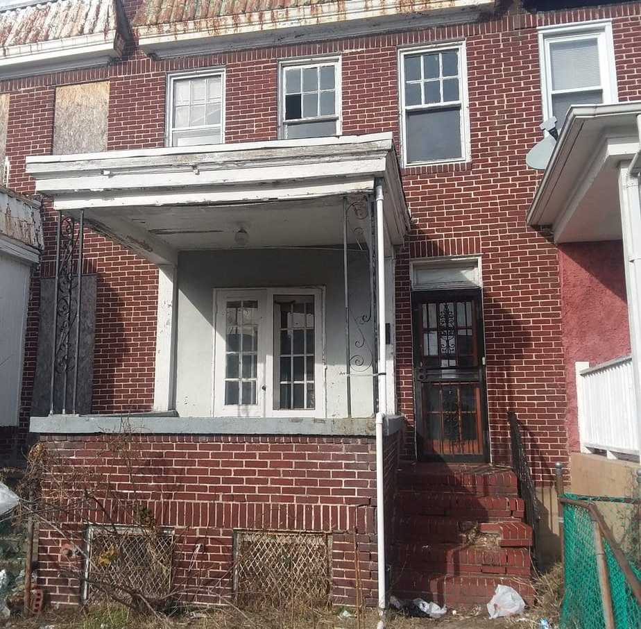 2112 Presbury St, Baltimore, MD 21217 Purchase and Renovation Single Housing Project