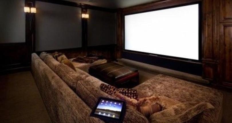 How to select and buy a house that you can create a real home theatre inside.