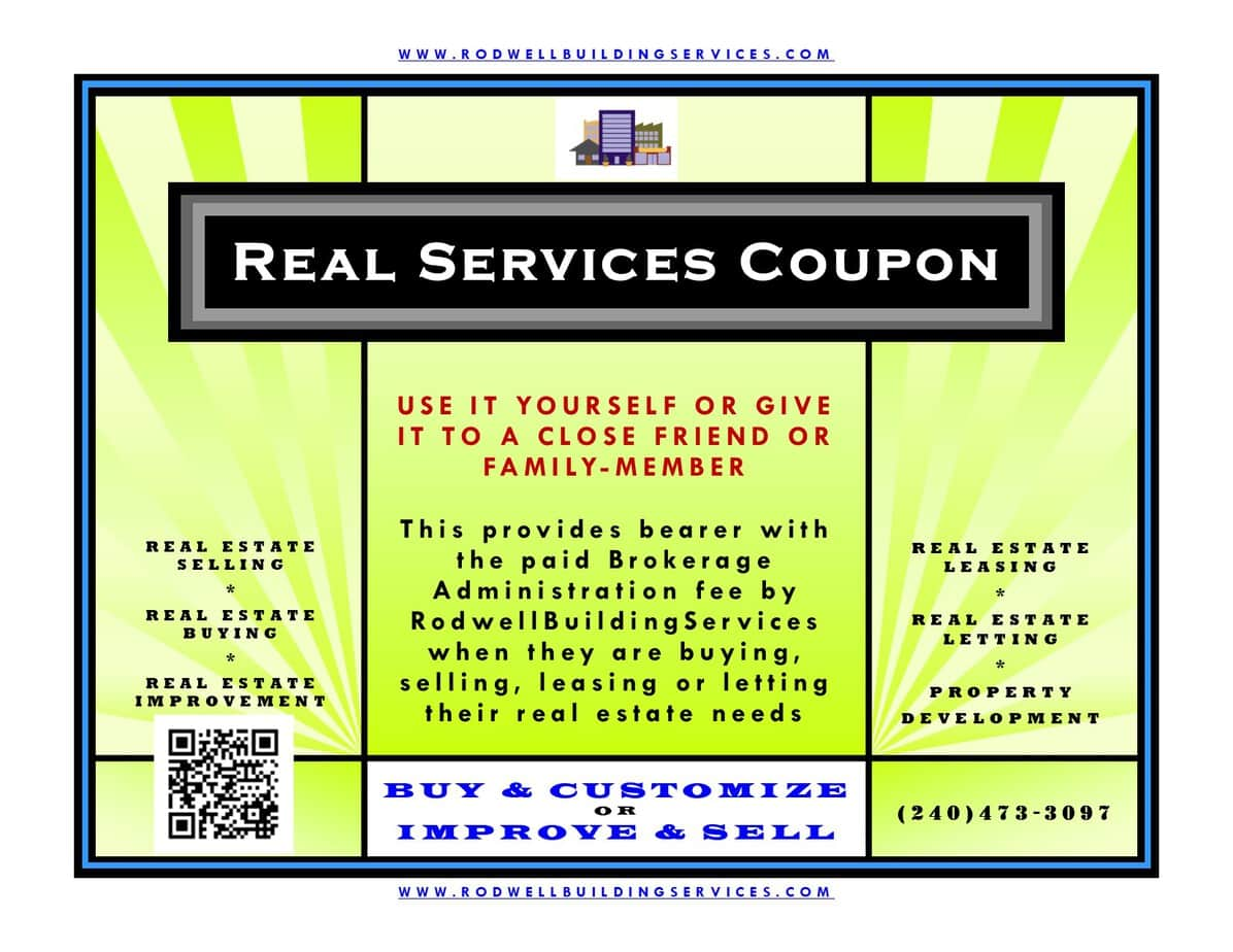 REAL SERVICES COUPON