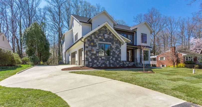 Newly Constructed, First Buyer, Reduced Price on 1220 Raymond Avenue, McLean, Virginia