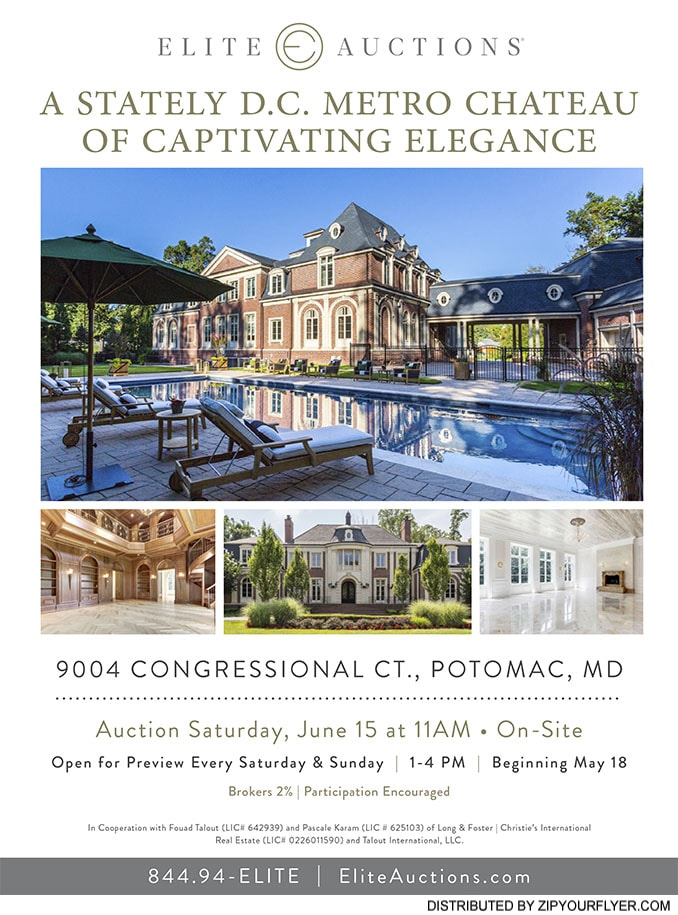 9004 Congressional Ct., Potomac, MD 20854 Flyer