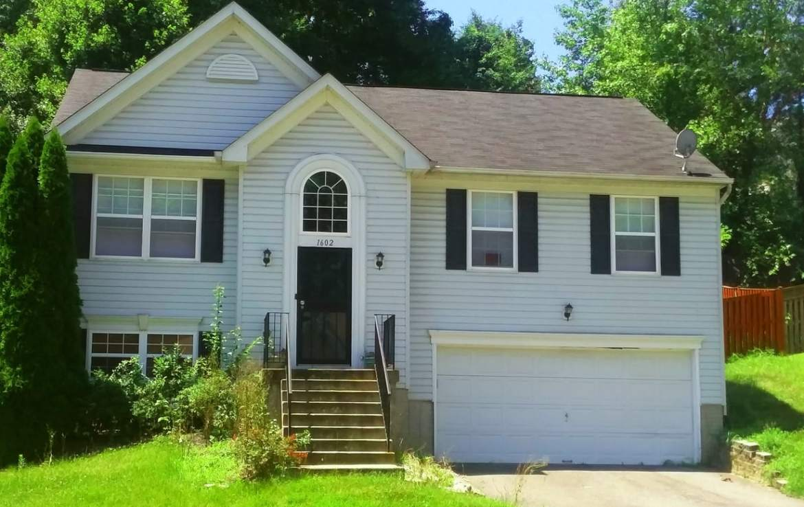 1602 Shady Glen Drive, District Heights, MD 20747 Front Center 2