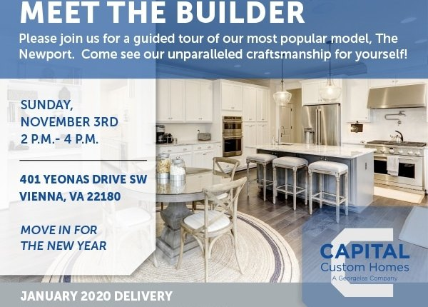Tour CapitalCustomHomes' Newport Home In Vienna This Weekend!