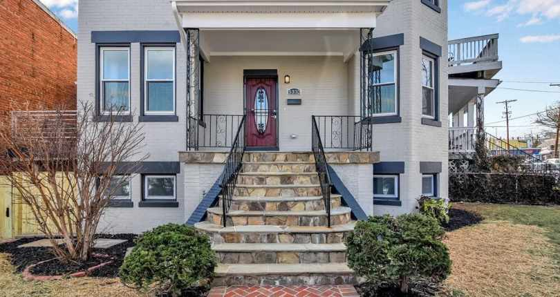 5332 Illinois Avenue, NW, Washington, DC 20011 New Listing Price Reduction Flyer