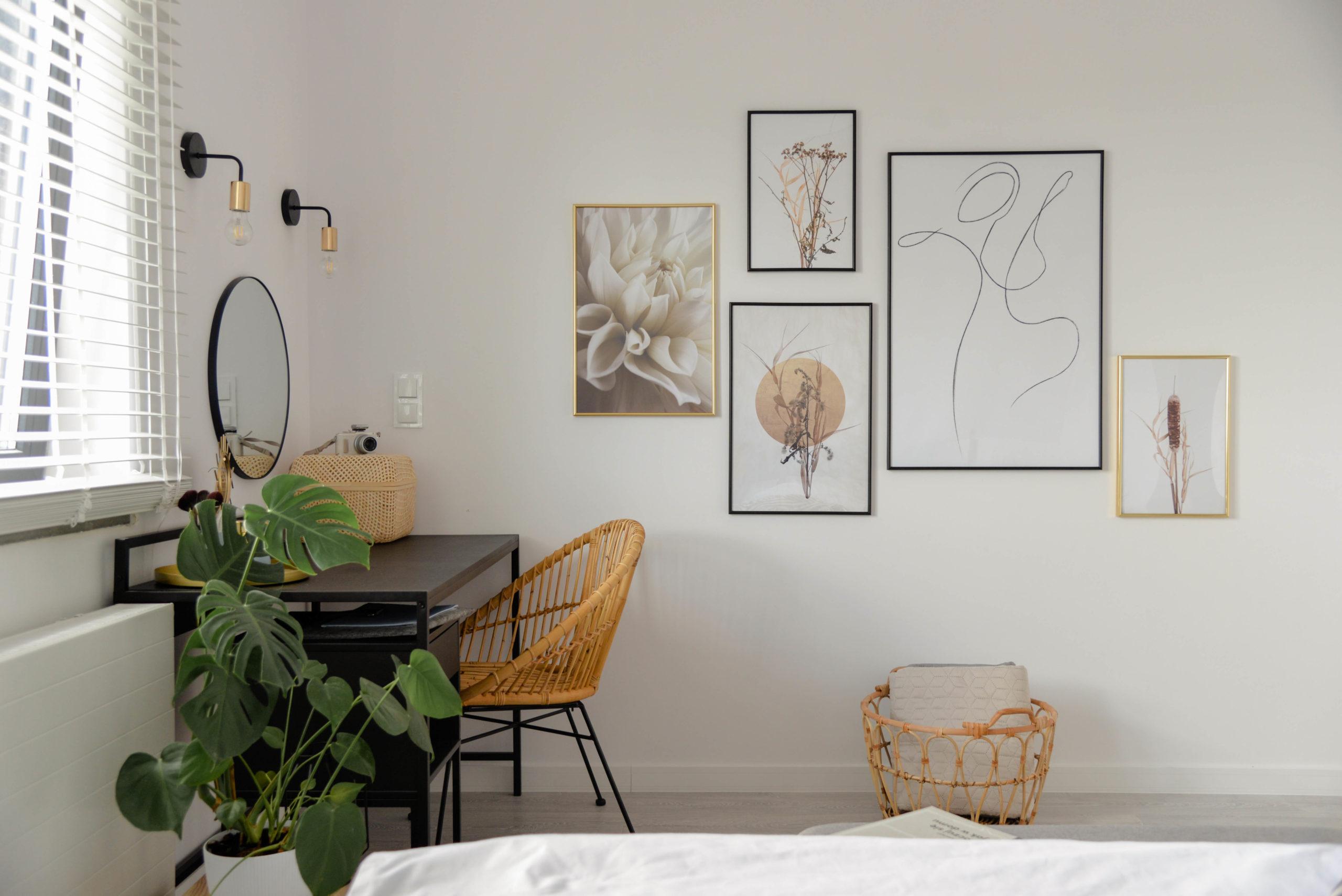 Metamorfoza naszej sypialni- zobacz jak kilka dodatków wprowadziło klimat stylu boho do naszego wnętrza.