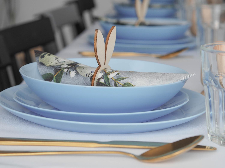 Dekoracja stołu na Wielkanoc- zobacz naszą propozycję.