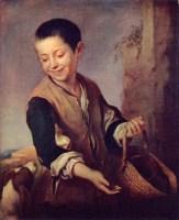 Бартоломео Мурильо. Мальчик с собакой