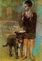 Пабло Пикассо. Мальчик с собакой