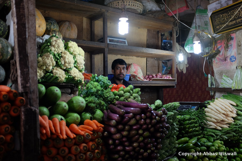 Bazaar in Dhaka