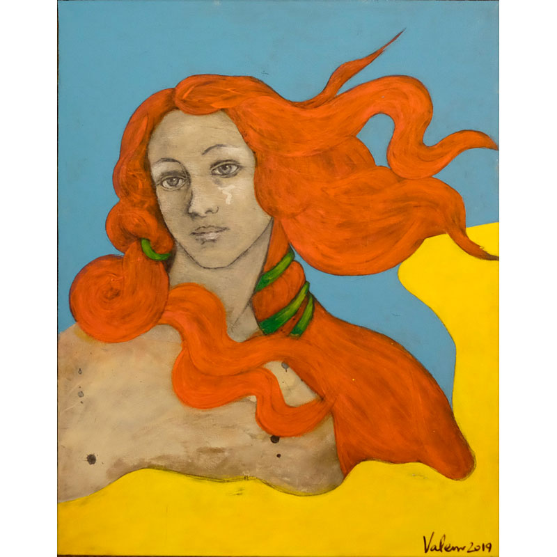 Botticelli's Girlfriend