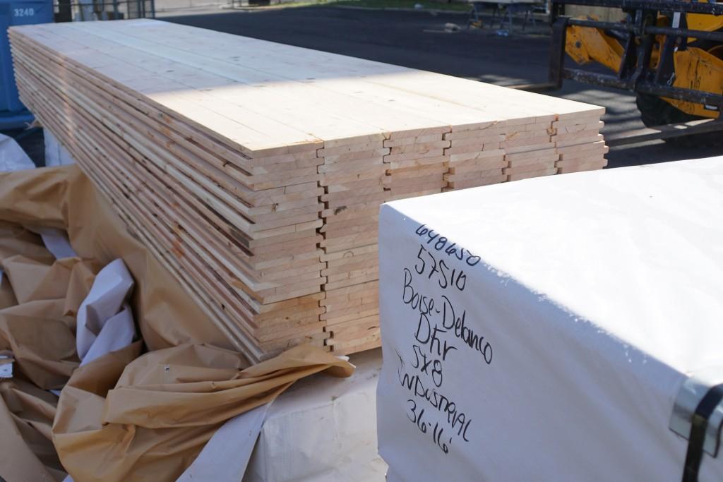 Sub-floor timbers