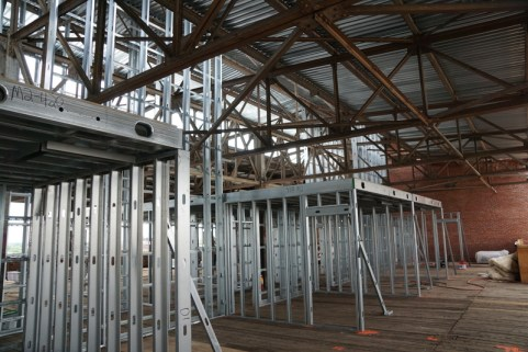 4th floor unit framing