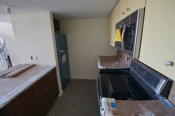 Appliances going in