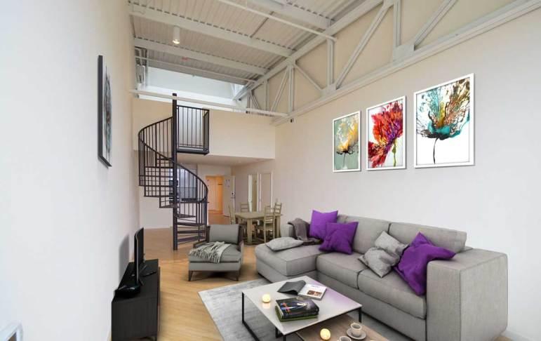Wright Bros I Living Room