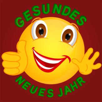 Smiley – Gesundes neues Jahr !