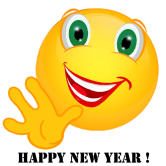 Smiley – Happy new year! 2