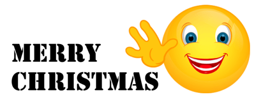 Smiley – Merry Christmas