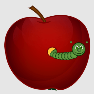 Apple – worm