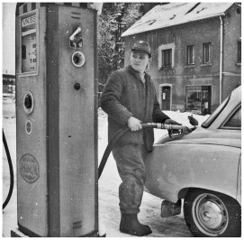 Tankstelle – Zapfsäule