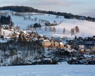 Blick zum Friedensberg