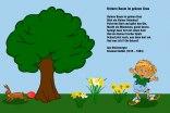 Unterm Baum im grünen Gras – Emanuel Geibel