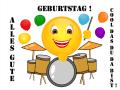 Smiley – Geburtstag cool das du da bist!