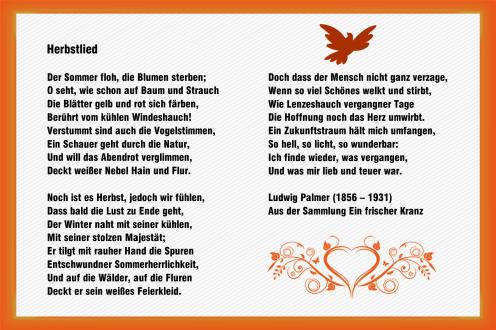 Herbstlied – Ludwig Palmer