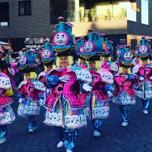 Carnaval in Limburg Stoet lanaken