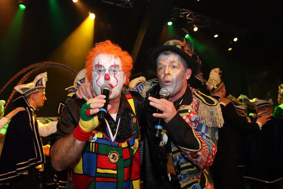 Carnaval in Limburg Huub en Chris