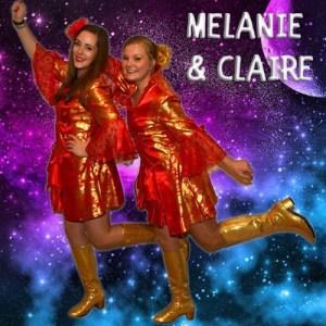 Carnaval in Limburg Melanie en Claire