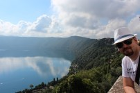 Day 3 of our journey. Fast forward to Lake Albano, where the Pope has a summer palace. I can see why.