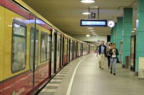 An efficient and sleek S-Bahn system helps getting around the city.
